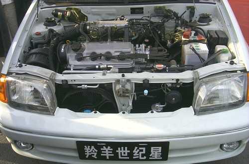 羚羊的发动机舱 -图片欣赏 车行天下高清图片